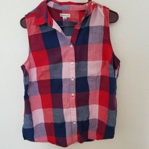Croft and Barrow Checkered top